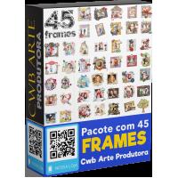 45 Frames totalmente editáveis