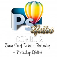 Curso de Corel + Curso de Photoshop +Curso de Photoshop Efeitos